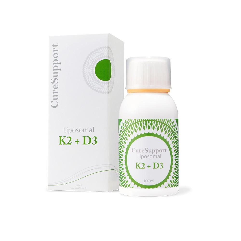 CureSupport  微脂體 K2 + D3