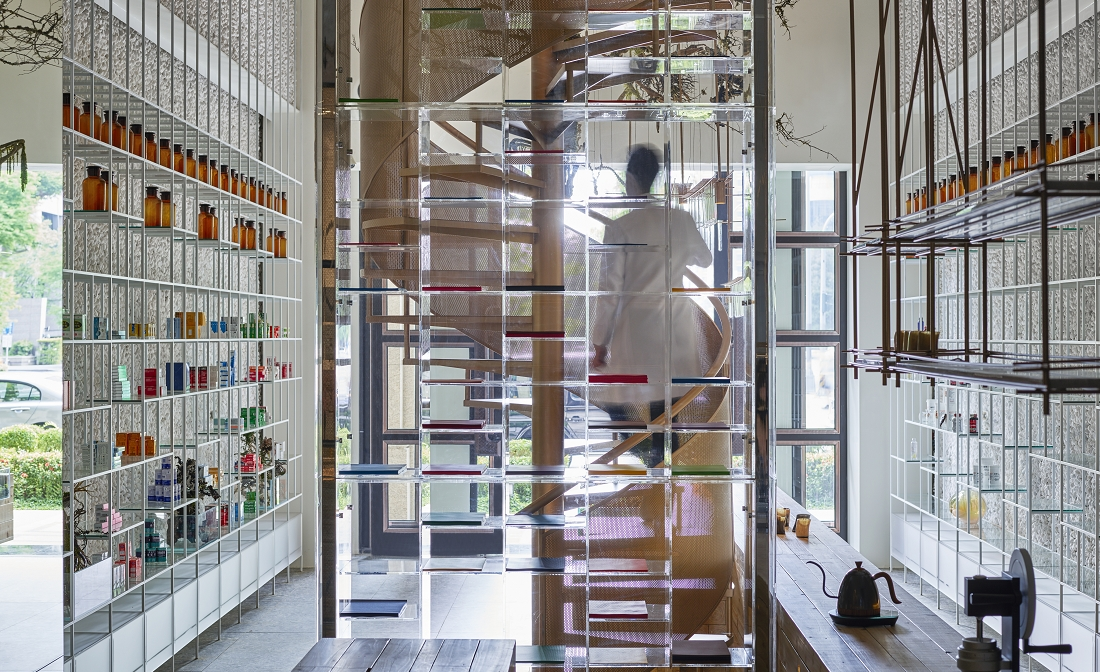Chemical reaction: a modern holistic haven in Taiwan reinvents the pharmacy
